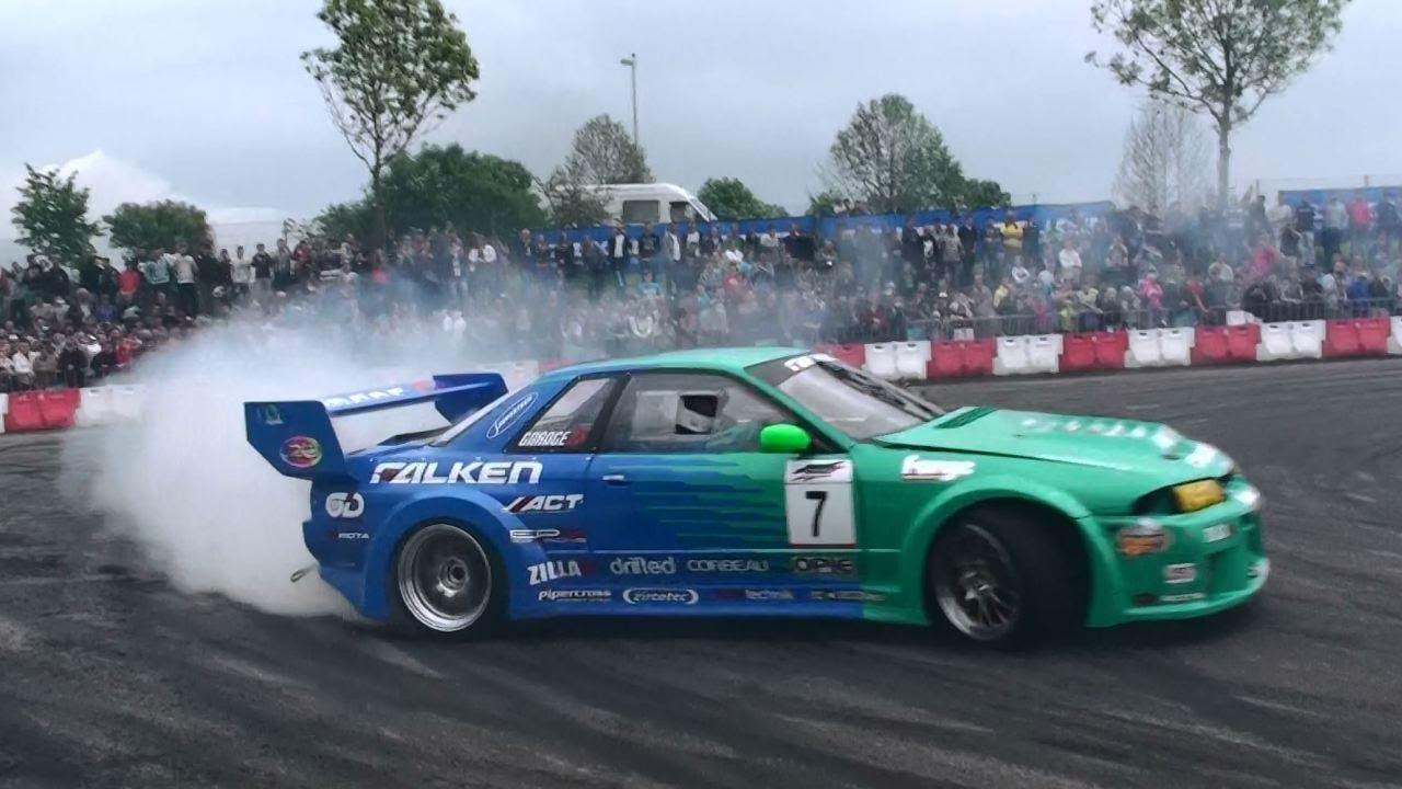 Falken Drift Team Matt Carter Nissan Skyline Drifting