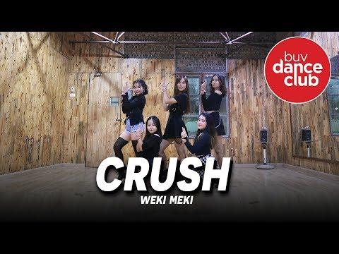CRUSH - Weki Meki (위키미키) - Dance Cover by BUV Dance Club from Vietnam (Practice Room Version)