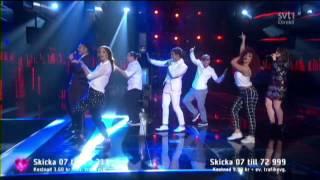 Eric Saade - Sting (Melodifestivalen 2015) HD
