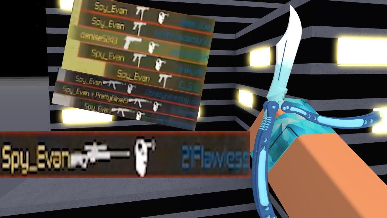 I KNIFED 21 FLAW - Counter Blox Stream Highlights - Spy_Evan