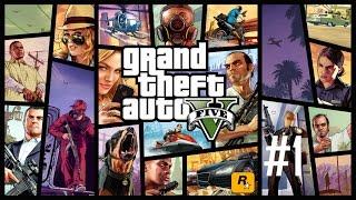 (60FPS)Grand Theft Auto V: #1: Prolog CZ/SK