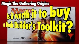 Mtg - Is It Worth It To Buy A Deck Builder's Toolkit For Magic: The Gathering Origins?