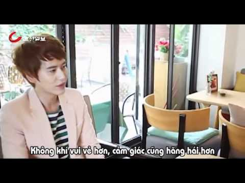 [Vietsub] 120710 Super Junior Kyuhyun Chosun interview preview