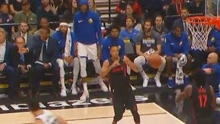 Kevin Durant YELLING At Zaza Pachulia For Not Passing the Ball to Klay Thompson and Missing!