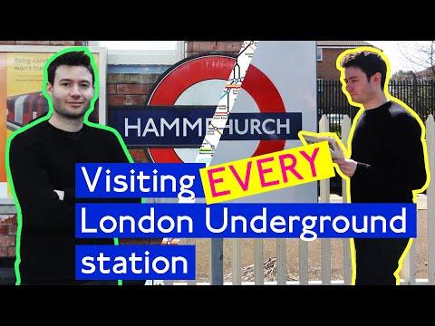 Visiting every London Underground station