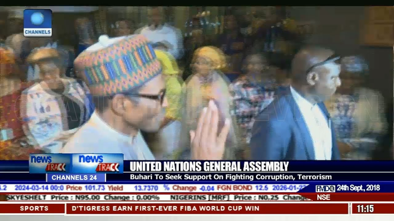 Download President Buhari Attends 73rd UNGA Session In New York