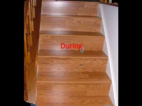Laminate Flooring Installed By A Cut Above Carpentry