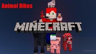 Minecraft Mod Showcase (Animal Bikes)