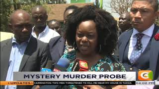 Autopsy on Mildred Odira conducted at City Morgue