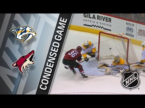 Nashville Predators vs Arizona Coyotes – Jan. 04, 2017 | Game Highlights | NHL 2017/18. Обзор матча