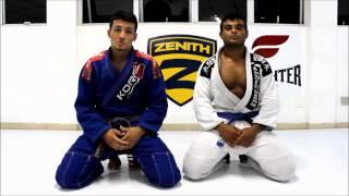 Jovem faixa-roxa da Zenith ensina finalização acrobática que funciona no Jiu-Jitsu