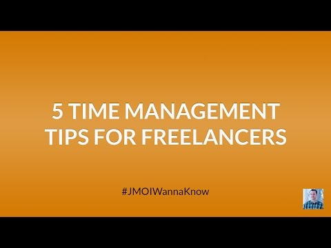 5 Time Management Tips for Freelancers