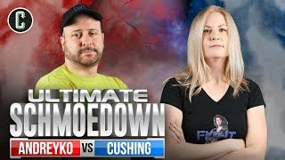 Marc Andreyko VS Rachel Cushing - Movie Trivia Ultimate Schmoedown Round 1