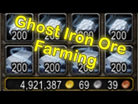 Ghost Iron Ore Farming - Easy Gold with Mining - WoW Legion Patch 7.2 [World of Warcraft Gold Guide]