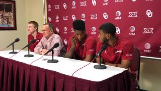 OU Basketball - Sooners react to NCAA Tournament bid