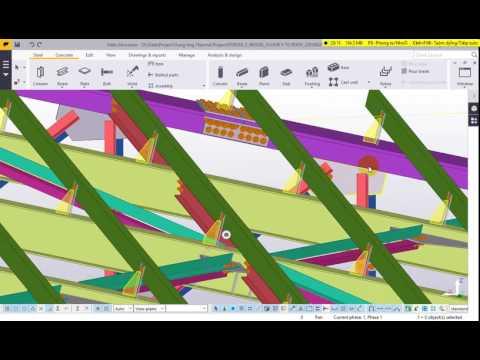 Đào tạo Tekla Structures 2016 - Phần 1