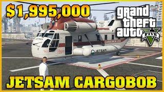 JETSAM CARGOBOB | Finance and Felony | GTA 5 Online DLC
