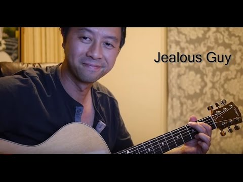 John Lennon Jealous Guy Cover Guitar With Lyrics And Chords