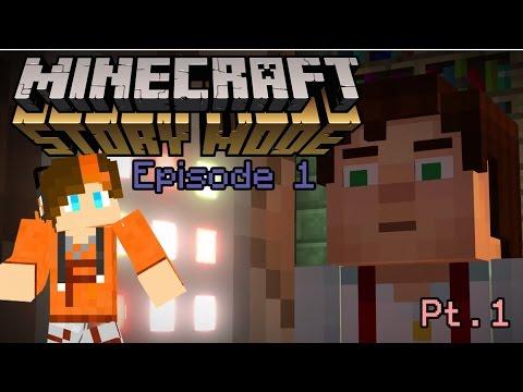 Minecraft: Story Mode - Reuben The Pig! - Episode 1, Part 1