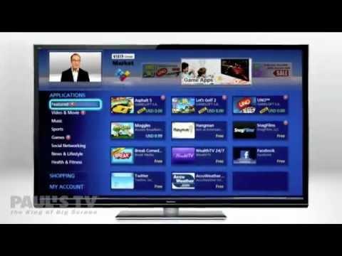 Panasonic GT50 Plasma Full HD 3D TV - Available at Paul's TV