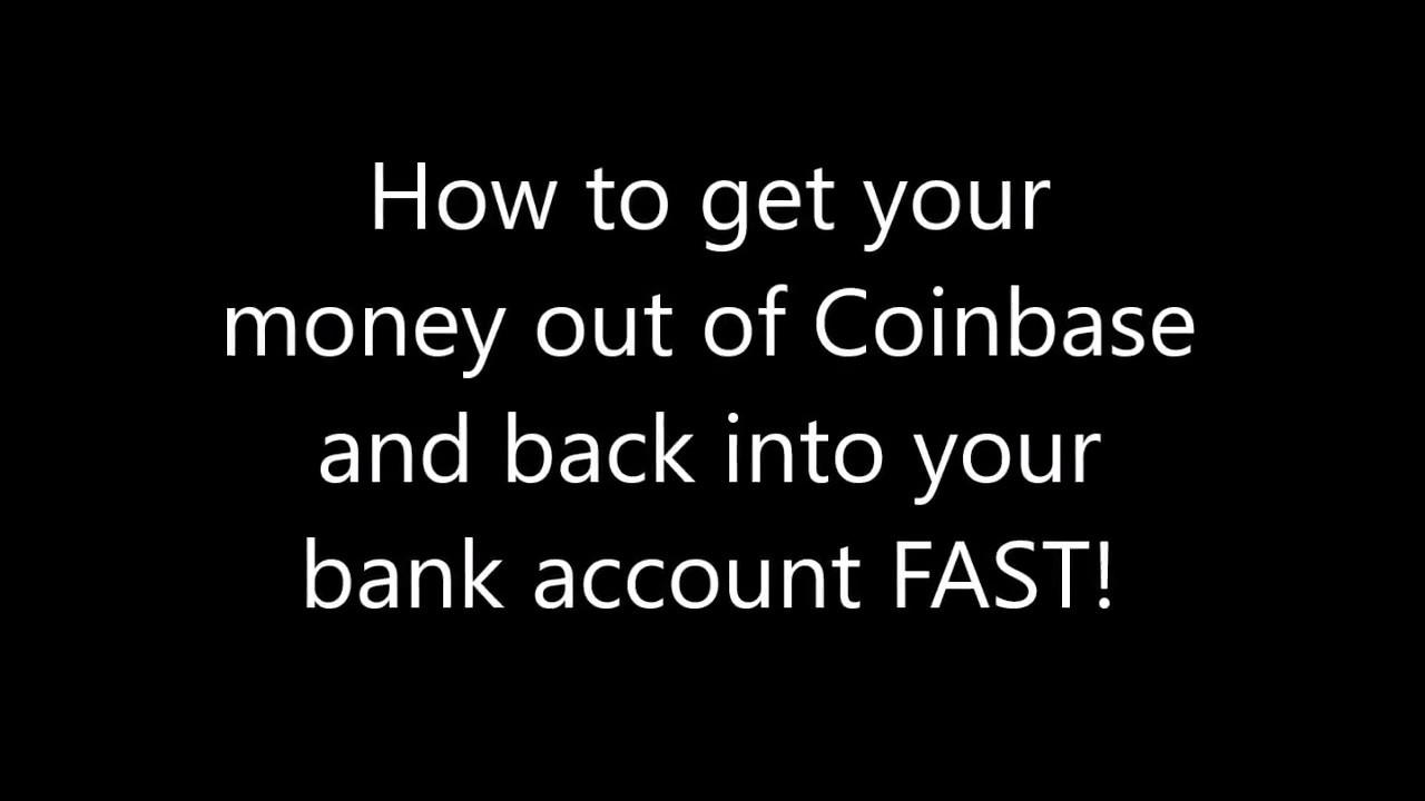 cash out coinbase