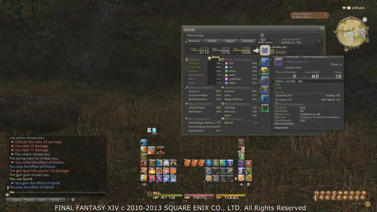 FFXIV ARR: Messing With Your UI - PC Version(Guide/Rant)