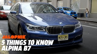 The $150,000 Ultra-Powerful 2018 Alpina B7 | 5 Things To Know thumbnail