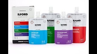 ILFORD SIMPLICITY Film Processing Photo Chemicals