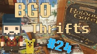 BGO Thrifts #24 - Soulblade, ps2 demos, Baldur