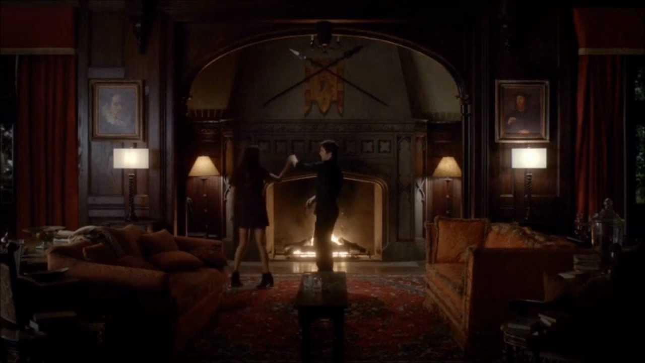 The Vampire Diaries 4x07 Full And Only Damon Elena Love Scene - Make-your-room-look-like-a-vampires-room