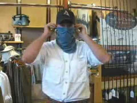 How to use a Patagonia Sun Mask from Uptown Angler