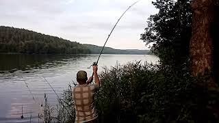 ночная рыбалка в августе....