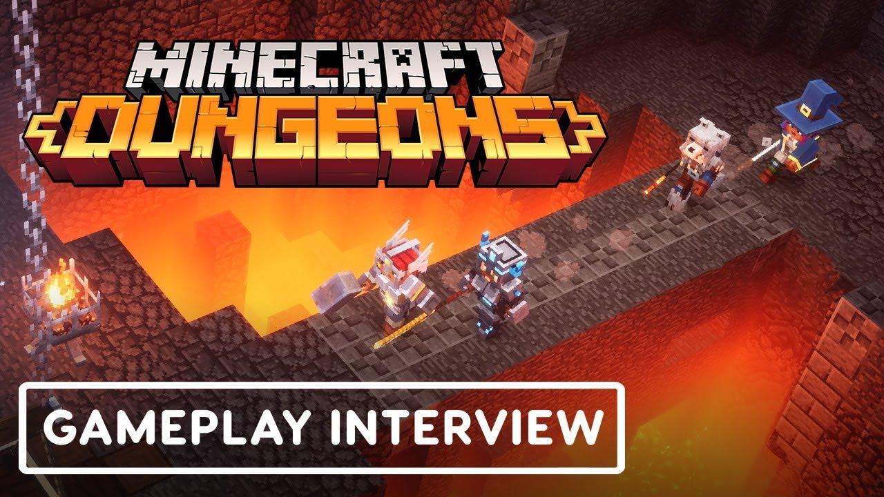 Video: Minecraft Dungeons devs talk gameplay - Nintendo
