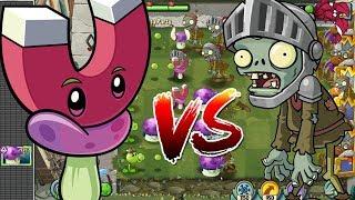 NẤM NAM CHÂM HẠ KNIGHT ZOMBIE | Plants Vs Zombies 2 | Hoa Quả Nổi Giận 2