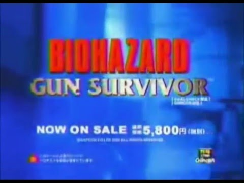 Biohazard Gun Survivor TV Spot
