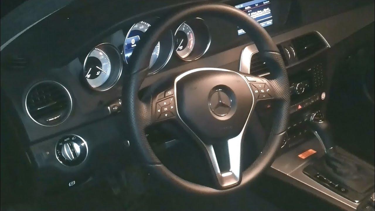 Mercedes benz c class w204 interior design c klasse for Interieur w204
