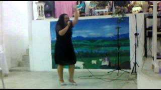 Cantora Vanda Brasil - Ass. de Deus Vila Kennedy - Culto de Senhoras