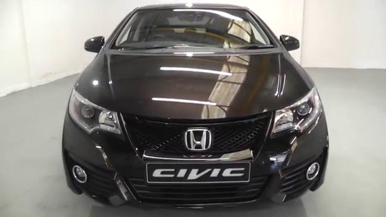 Honda CIVIC 1.6 SR in golden bronze metallic , video walkaround - YouTube