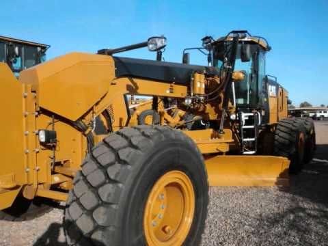 New Cat 16m Motor Grader Walkaround W Specs Youtube