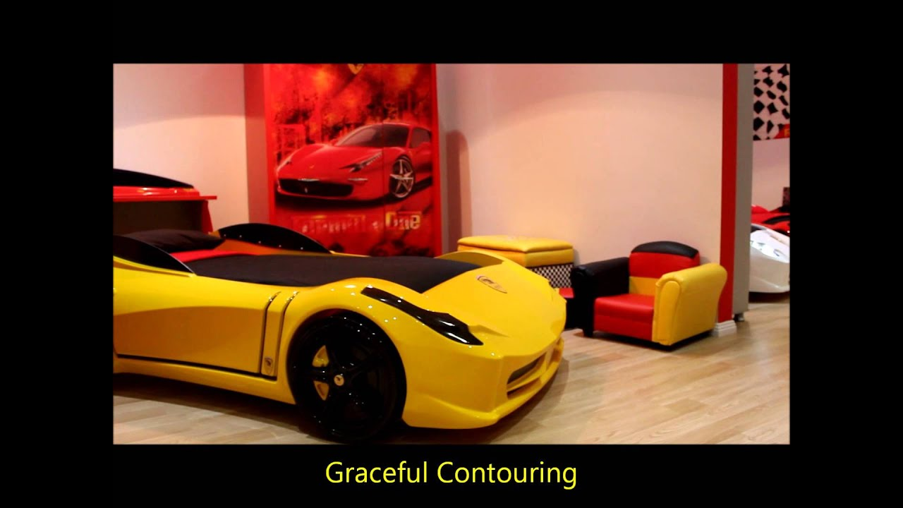 FAST CAR BEDS SHOWROOM - YouTube