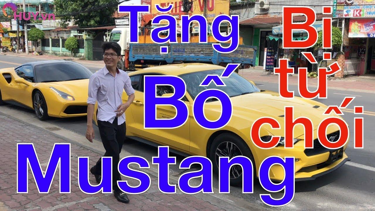 Mua tặng bố Ford Mustang nhưng bị từ chối - Ferrari 488GTB - Lamborghini Aventador Bình Dương