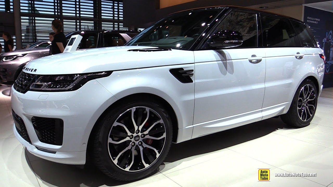 2019 Range Rover Sport Hse Dynamic P400e Hybrid Walkaround 2018 Paris Motor Show