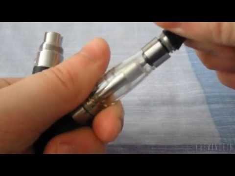 Unboxing 1100mAh 1.6ml eGo-CE4 Electronic Cigarette + E-Liquid