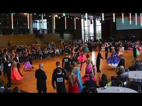 Saxonian Dance Classics 2017, Dresden, WDSF Sen 1, Standard, 1\4 Final