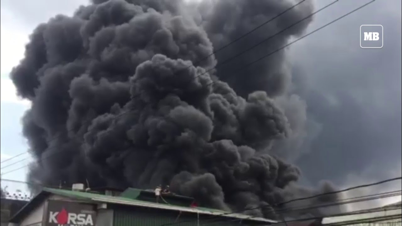 Fire along Tendido St., Brgy. San Jose, QC