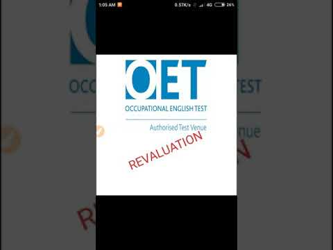 How to apply for OET revaluation