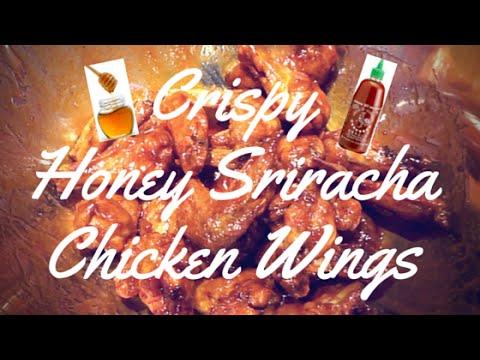 Recreating Food Wishes Crispy Honey Sriracha Chicken Wings Diy