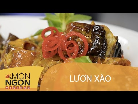 Dạy Cách Làm Lươn Xào   Món Ngon Việt Nam