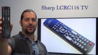 SHARP LCRC116 TV Remote Control - www.ReplacementRemotes.com