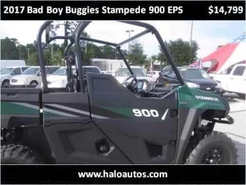 2017 Bad Boy Buggies Stampede 900 Eps New Cars Brooksville F